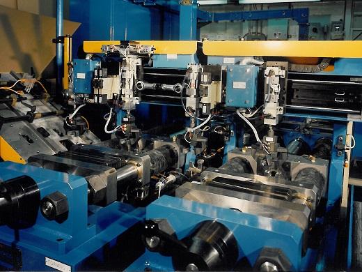 Push Pull Tube Forming Machines