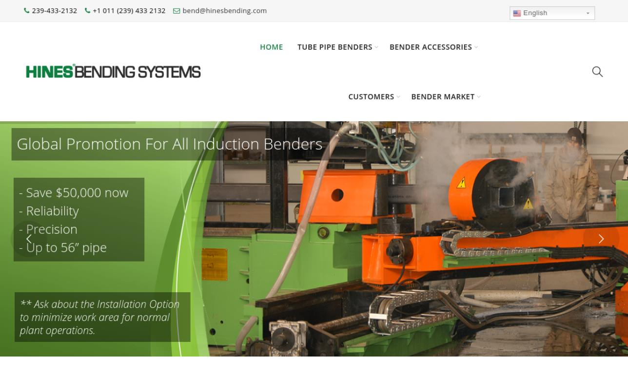 Hines® Bending Systems, Inc.