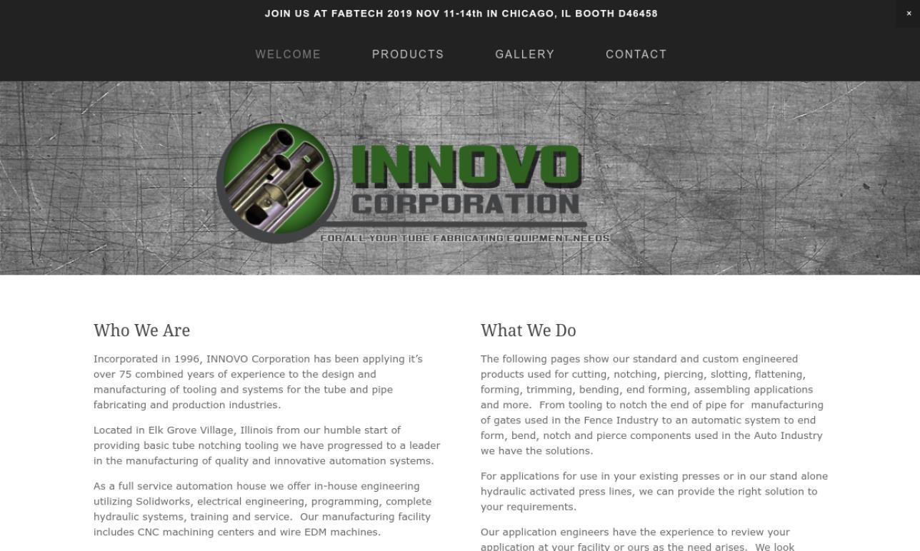 INNOVO CORPORATION
