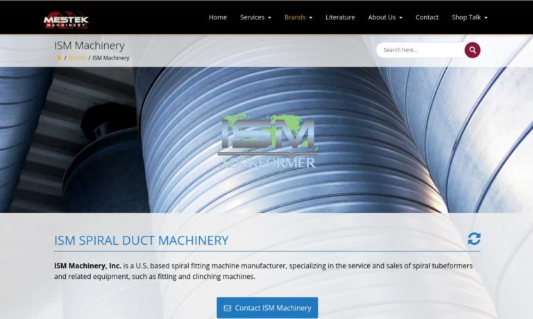 ISM Machinery, Inc.
