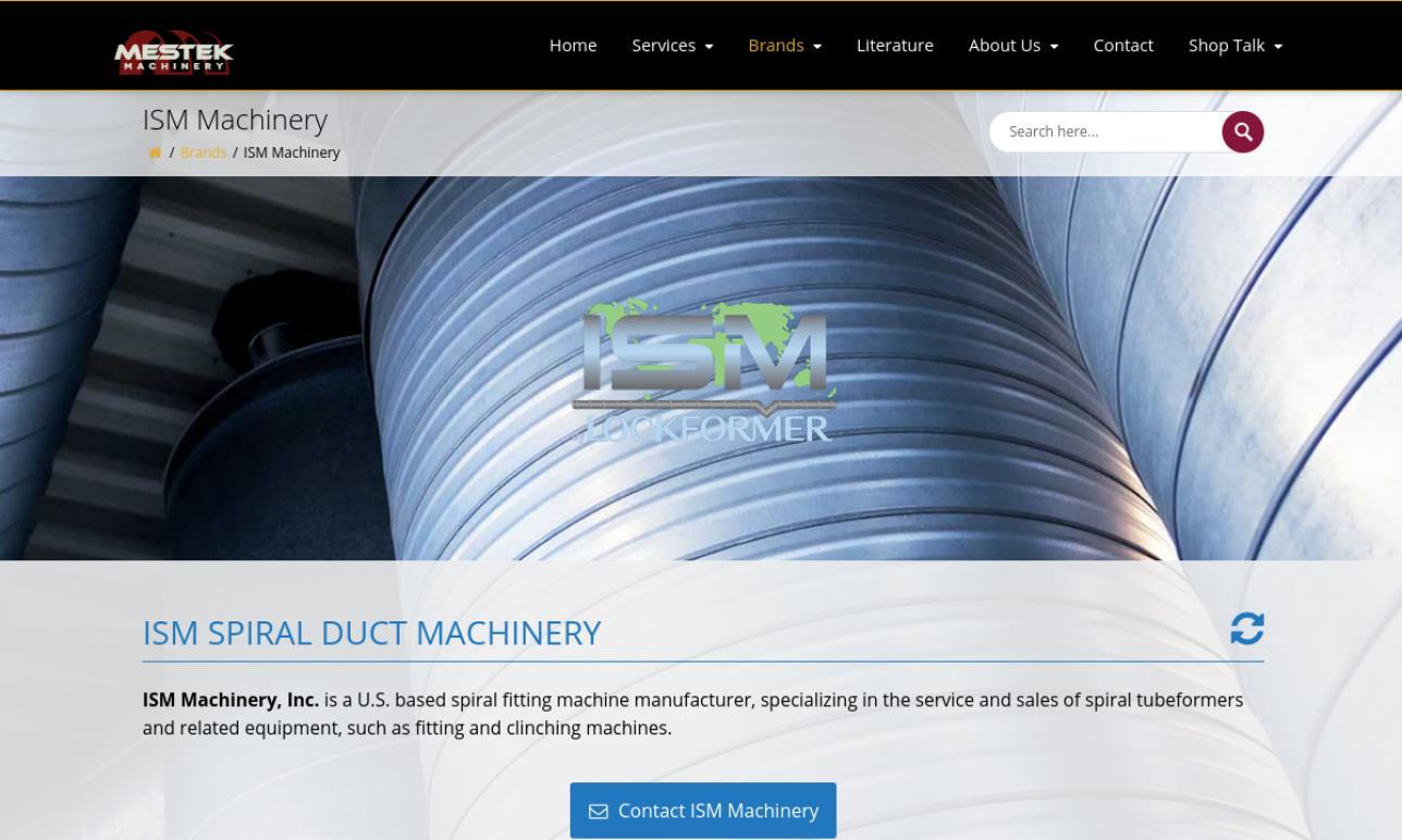 ISM Machinery, Inc.