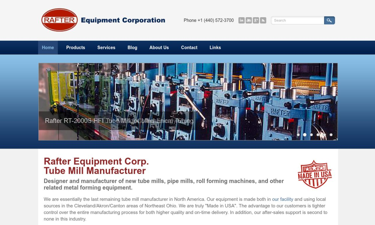 Rafter Equipment Corporation