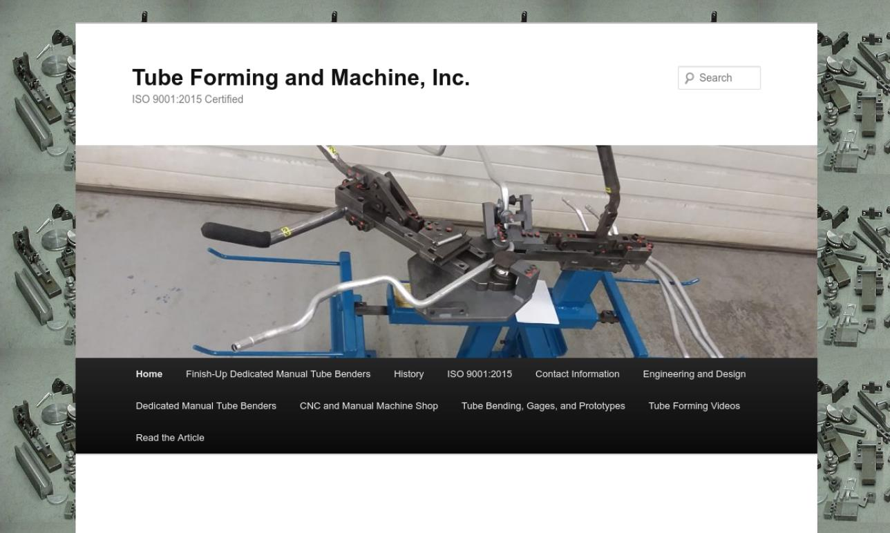 Tube Forming and Machine, Inc.