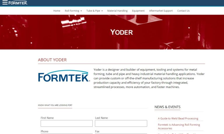 Yoder/Formtek Group